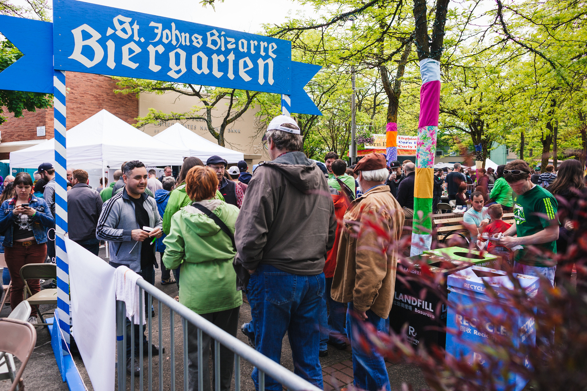 the 2014 St. Johns Bizarre in North Portland
